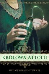 Królowa Attolii (2012) - okładka
