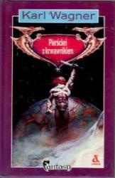 Pierścień z krwawnikiem (1991) - okładka