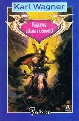 Pajęczyna utkana z ciemności (1991) - okładka
