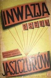 Inwazja jaszczurów (1949) - okładka