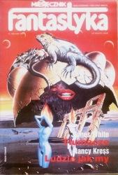 Fantastyka / Nowa Fantastyka 6 (93) 1990 - okładka